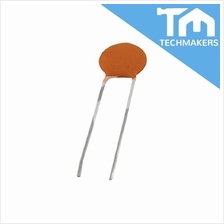 10 pcs of Ceramic Disc Capacitor 15pF, 10pF, 100pF, 1nF, 10nF, 100nF