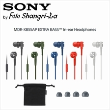 Sony MDR-XB55AP EXTRA BASS with Microphone In-Ear Headphones