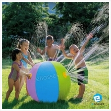 60CM Inflatable Water Spray Ball Children's Pool Summer Outdoor Beach Float To