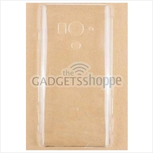 SONY XPERIA ACRO S LT26W CLEAR TRANSPARENT HARD PLASTIC CASE