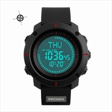 SKMEI Compass Watch 1216 - Compass World Time Stop Watch Water Resista