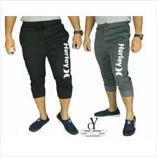 CY-716 SHORT SWEAT PANT TRACK BOTTOM SELUAR PENDEK EXERCISE JOGGING YOGA GYM J