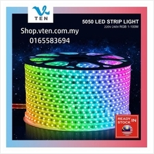 20Meter RGB 5050 IP65 Waterproof LED Strip Flexible LED Light AC240V