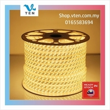AC240V IP67 Triple Row LED Strip 180LEDS Outdoor Light 20M Warm White