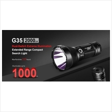 Klarus G35 Extended Range Compact LED Flashlight up to 1000 Meter
