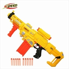 SPEED Semi-Auto Infrared LED Electric Nerf Soft Bullet Gun (JS005)