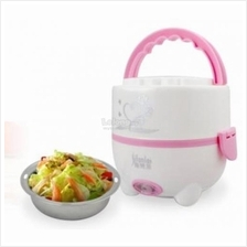 Multifunctional Stainless Steel Electric Mini Rice Cooker Lunch Box