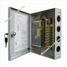 Power Supply Box 12V 10A 20A For CCTV Camera with DC Cable
