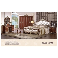 819-60370739546 European royal style bedroom set