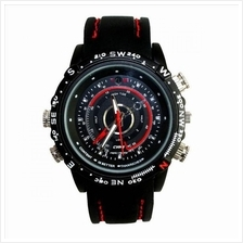 CPS 16GB Waterproof Spy Pinhole DVR CCTV Watch Camera