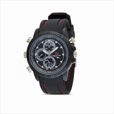 16GB SC HD Waterproof RUBBER Watch Design Spy Camera With Video Camcor
