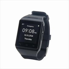 "S18 Smart Watch Phone 1.54"" Capacitive Touch Screen Bluetooth GSM Blac"