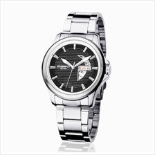 Eyki Overfly W8530G With Day Date Stainless Steel Watch Silver