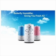 Butterfly Design Ultrasonic Humidifier Fresh Air Cleaner With No Noise