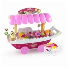 Sweet Shop Luxury Candy Car ice cream truck Light music Cosplay preten
