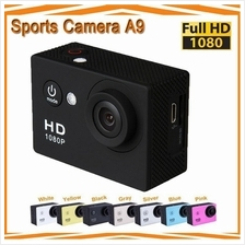 Ewing A9 2 Inch Full HD1080P 5MP Underwater 30M Mini Sports Action Cam