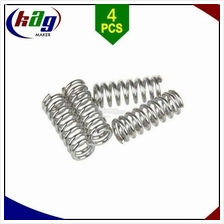 4pcs Feeder spring for extruder nickel plating 1.2mm 20 mm 3D Printer