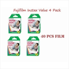 Fujifilm Instax Mini Film Value Pack (4 Pack) for 7S 50S 25 8 Camera