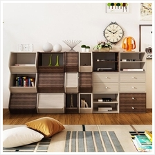7 Design High Quality Creative Design Storage Cabinet Cube Bookshelf