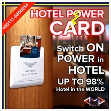 Hotel Card High  & Low Frequency Supply Magnectic Electric Power Card
