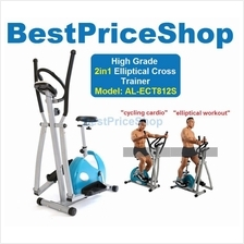 High Specs 2in1 Elliptical Cross Trainer Cycling Gym Bike AL-ECT812S