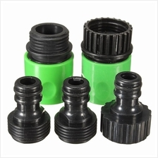 5Pcs Rubber Hose Water Faucet Tap Adapter Rubber Nozzle Washing Pipe Q