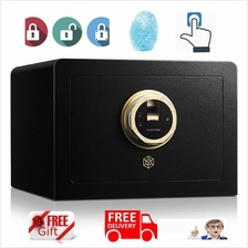 New Fingerprint Home Hotel Office Safe Safety Deposit Box Alam Wall