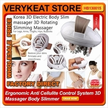 Korea 3D Rotating Electric Body/Legs/Arms Slimming Massager Slimmer