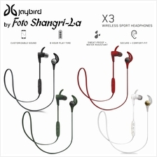JayBird X3 Wireless Bluetooth In-Ear Sport Earphone Headphones (1 year Warrant