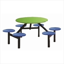 Food Court Table  6 Seater (Fibreglass)