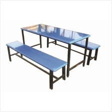 Canteen Table and Bench (Fibreglass)