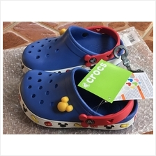 Crocs Children's Kids' Crocband II Mickey Clog W/LED UK SIZE 1