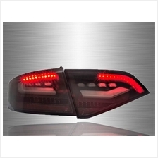 AUDI A4 B8 2009 - 2012 CLEAN BLACK LED Light Bar Tail Lamp [TL-220-1]