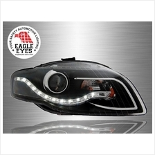 AUDI A4 B7 2005 - 2007 EAGLE EYES LED Starline Projector Head Lamp