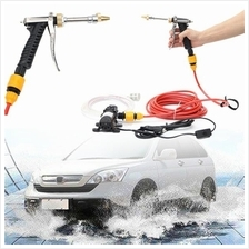 12V 60W High Pressure Washer Spray Tool Electric Car Water Cleaner Was