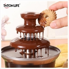 Mini Chocolate Fountain Fondue With Heating For Home and Function