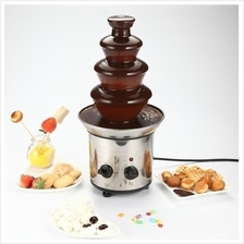 4 Layer Chocolate Fountain Fondue Stainless Steel For Wedding Birthday
