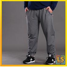 Plus Size Men Cotton Loose Casual Sport Trouser Pants Size 3XL to 7XL