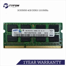Samsung M471B5273CH0-CH9 SODIMM 4GB DDR3 1333MHz PC3-10600 Laptop RAM (Refurbi