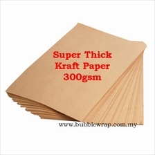 200pcs Super Thick Kraft Paper 300gsm A4 Printing and Craft