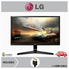 LG 24' IPS Dislpay Full HD Gaming Monitor (24MP59G,Display/D-Sub/HDMI)
