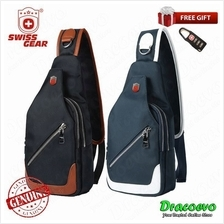 Swiss Gear PU Leather Cross Body Sling Shoulder Chest Bag SA-5607