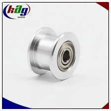 Idler Pulley Without Teeth Width 6mm GT2 Timing Belt With Bearing