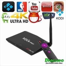 MX9 Pro Android 7.1 TV Box RK3328 Quad Core 64Bit 2GB RAM 16GB ROM