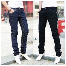 [Ready Stock] Korean Men Slim Fit Jeans / Men Jeans / Slim Fit / Long