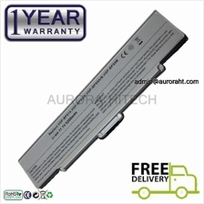 Sony Vaio VGP-BPS10 BPS9 BPS9B BPS9A BPS9/B BPS9/S BPL9 Battery Silver
