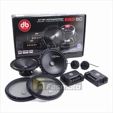 "DB Drive Euphoria ES3 6C 6.5"" Component Speaker System 75W RMS"