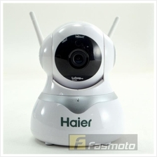 HAIER WSC-580W CCTV WIRELESS HD IP CAMERA WITH ROTATION CONTROL
