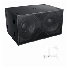 Audio Center K-LA218 2000W Dual 18' Subwoofer