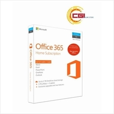 Microsoft Office 365 Home (5 users for PCs/Macs, Tablets & Phones)